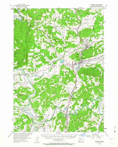 Amazon Com Yellowmaps Sutherlin Or Topo Map 1 62500 Scale