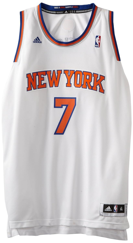 Amazon.com: NBA New York Knicks Blanco Swingman Jersey ...