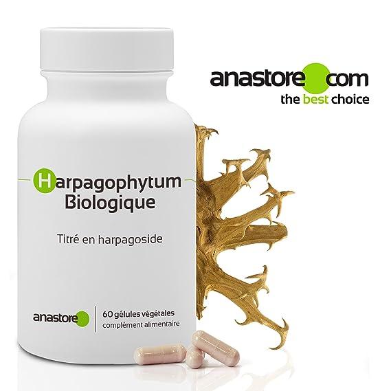 HARPAGOPHYTUM ECOLÓGICO * 400 mg / 60 cápsulas * Antiinflamatorios, Articulaciones (inflamación), Digestión * Garantía de satisfacción o reembolso ...