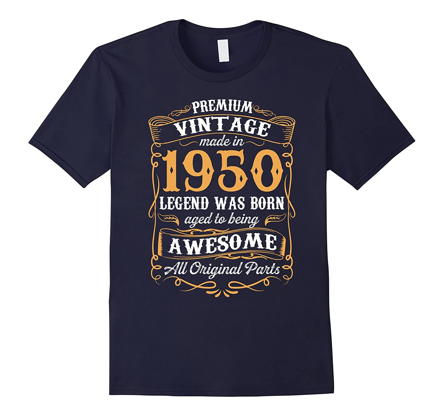 Vintage Made in USA 1950 67th Birthday T-Shirt 67 Years Old-Art