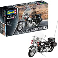 Revell 07915–Maqueta de Motocicleta 1: 8–US Police Motor