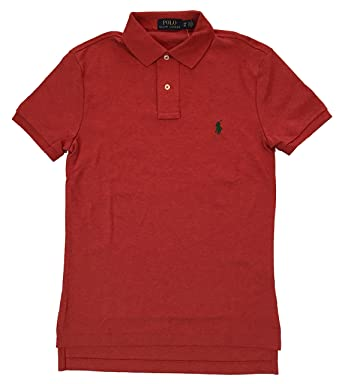 e47828ef4 Ralph Lauren Polo Men's Pony Logo Med Fit Polo Shirt Paisley Orange ...
