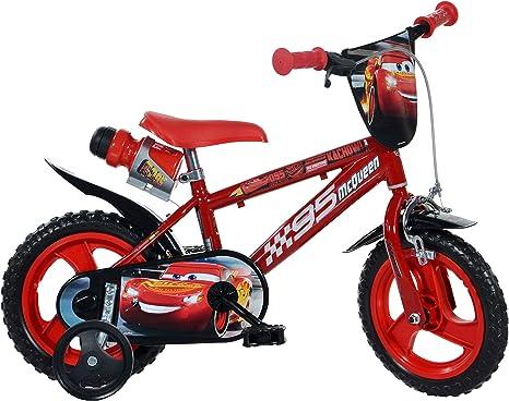Dino Bikes Bicicleta Niños Roja 30 cm Cars Juguetes Deportes Biciclos Juegos: Amazon.es: Deportes y aire libre