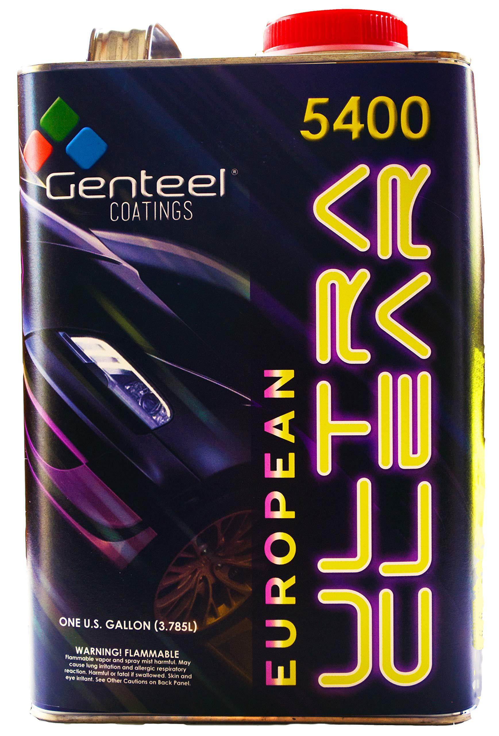 Genteel Coatings 5400 Euro Ultra Clear Kit