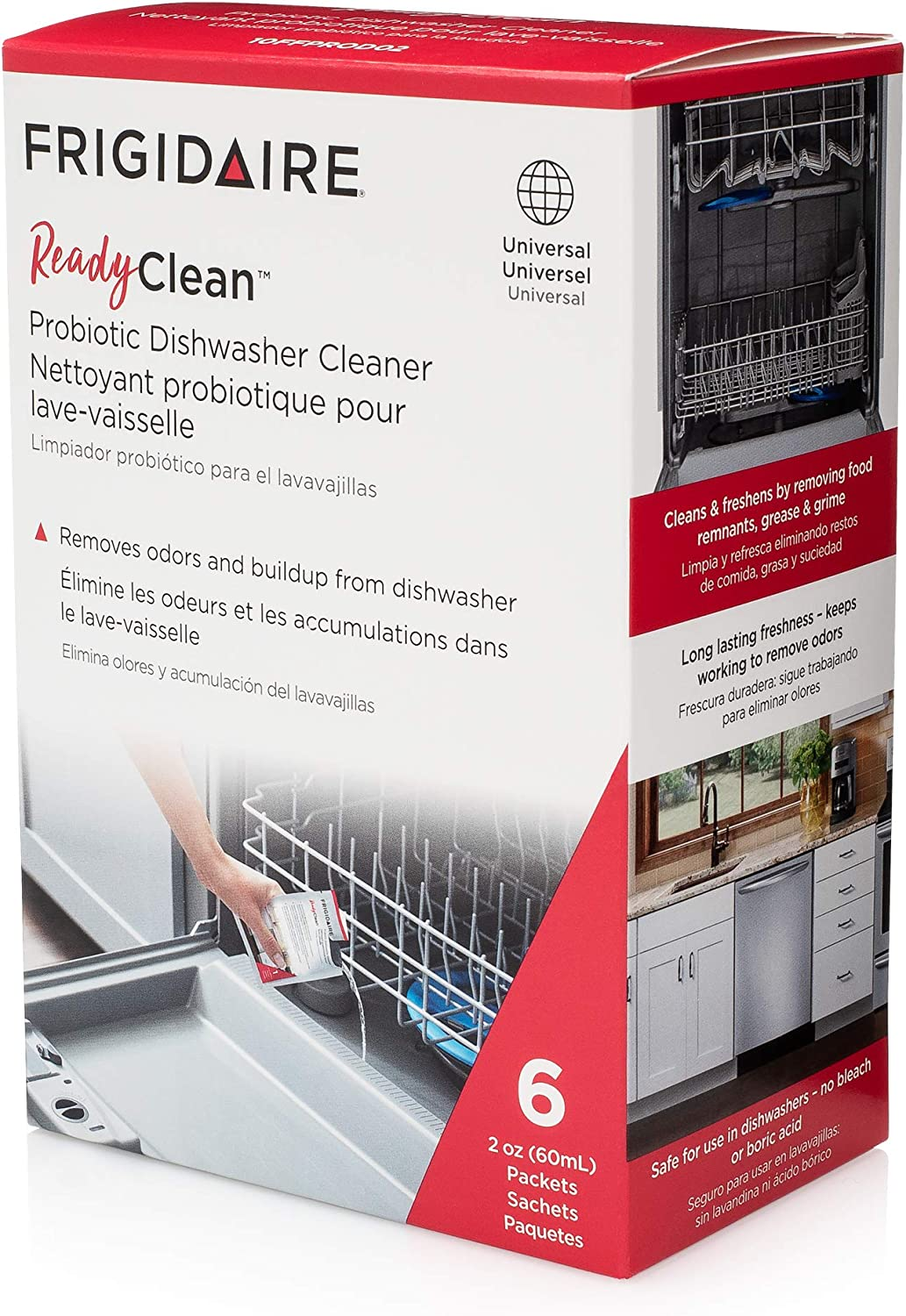 Frigidaire 10FFPROD02 ReadyClean Probiotic Dishwasher Cleaner
