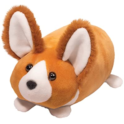 Dougas Corgi Dog Macaroon Plush Stuffed Animal: Toys & Games