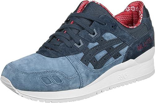 1cb6ecb090b Asics - Gel Lyte III XMAS Pack Blue Mirage - Sneakers Men  Amazon.es   Zapatos y complementos