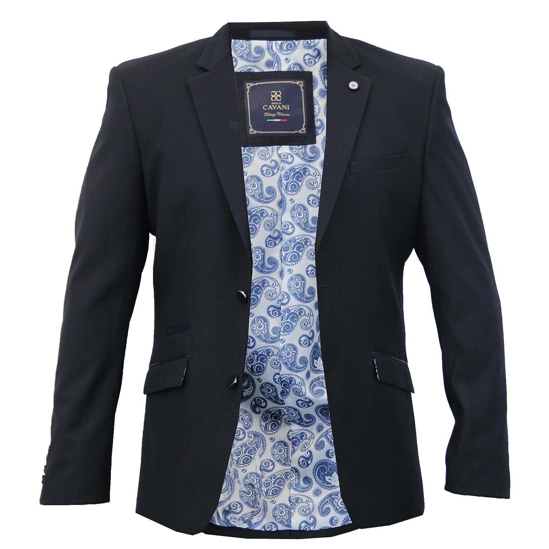 Cavani Mens Dinner Suit Slim Fit Blazer HENDRICK