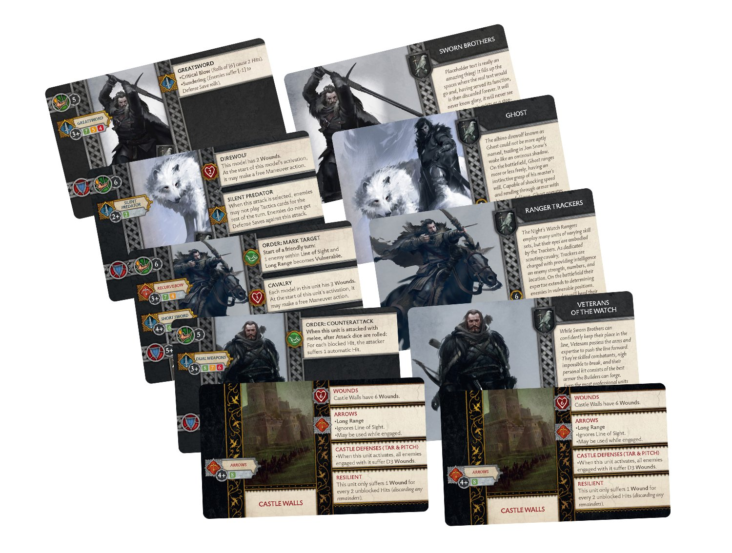 A Song of Ice & Fire: Night's Watch Starter Set by CMON (Image #3)