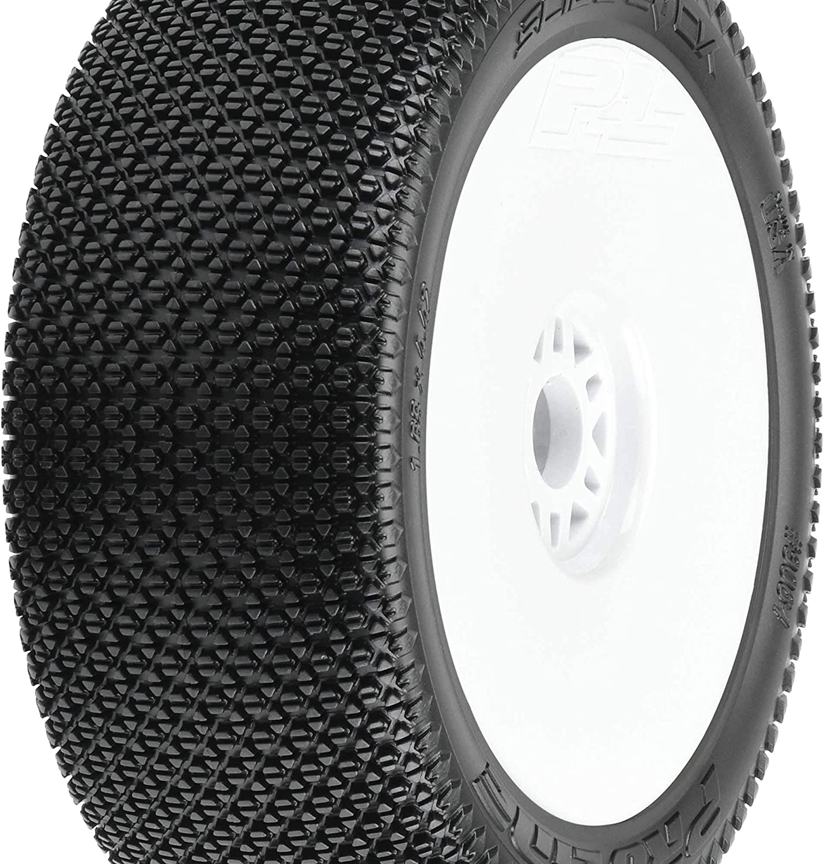 Pro-Line Badlands MX M2 1:8 Buggy MTD Black Wheels F//R PRO9067-41