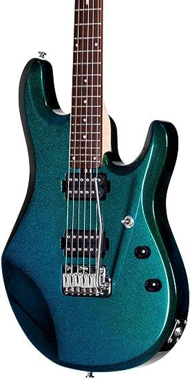 Sterling By Music Man jp60 John Petrucci Signature Series guitarra eléctrica Mystic verde