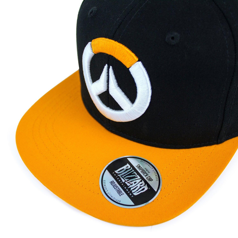 Taille Unique Overwatch Adjustable Cap Logo Gaya Entertainment Berretti Cappelli Noir//Orange