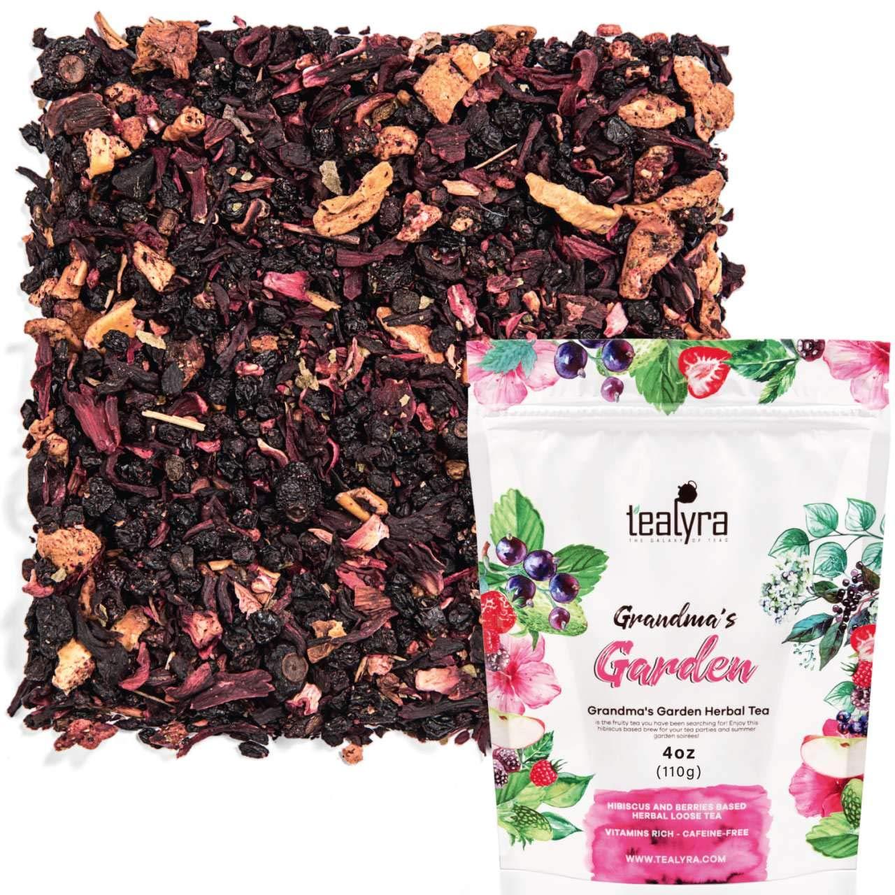 Amazoncom Tealyra Grandmas Garden Berry Fruit Tea Blend