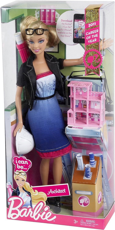 Amazon.es: Barbie V6928 - Muñeca Accesorios de Arquitectura: Juguetes y juegos