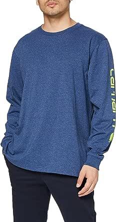 Carhartt Signature Logo Long-Sleeve T-Shirt Hombre