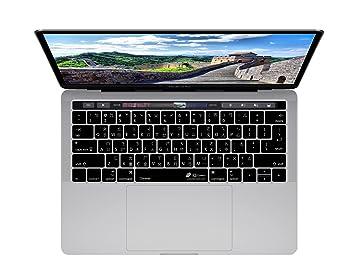 Chino teclado cubierta para el MacBook Pro w/Touch Bar: Amazon.es: Electrónica