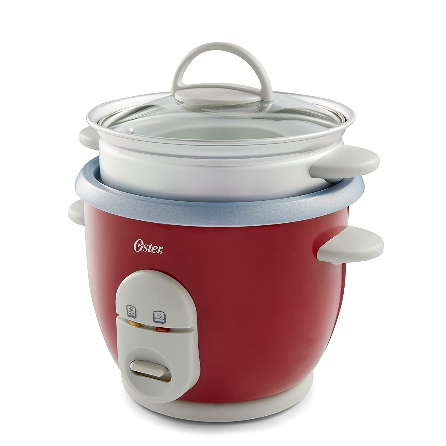 CKSTRCMS65 Oster 6-Cup Rice Cooker with Steam Tray Black