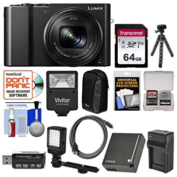 Amazon.com: Panasonic Lumix dmc-zs100 4 K WIFI Cámara ...