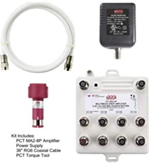Amazon com: Filter, MoCA POE Filter for Cable TV Coaxial
