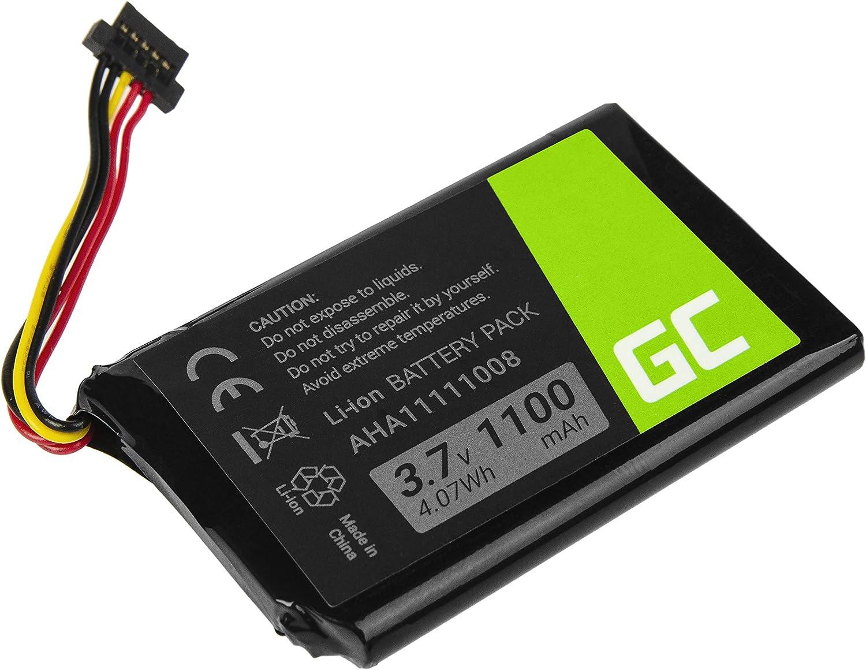 XXL 540S comme P11P20-01-S02. pour navigateur GPS Tomtom XXL 540 vhbw Li-ION Batterie 1100mAh 3.7V