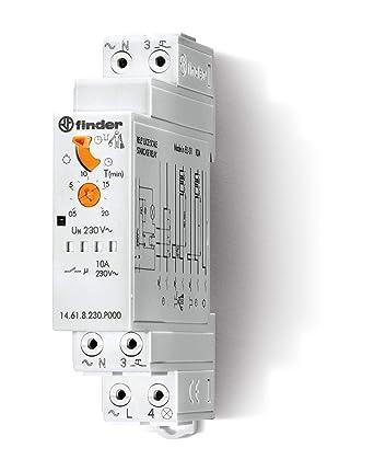 Finder 14618230P000 Serie 14 Temporizadores Modulares Luz Escalera ...