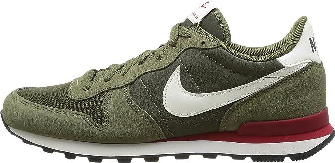 Nike Internationalist Leather - Zapatillas de Senderismo para Hombre Verde, Talla 40.5: Amazon.es: Zapatos y complementos
