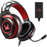 VANKYO Gaming Headset CM7000 with Authentic 7.1 Surround Sound Stereo PS4 Headset, Gaming Headphones with Noise Canceling Mic