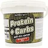 Nutrisport Protein and Complex Carbohydrate Strawberry Powder 5Kg