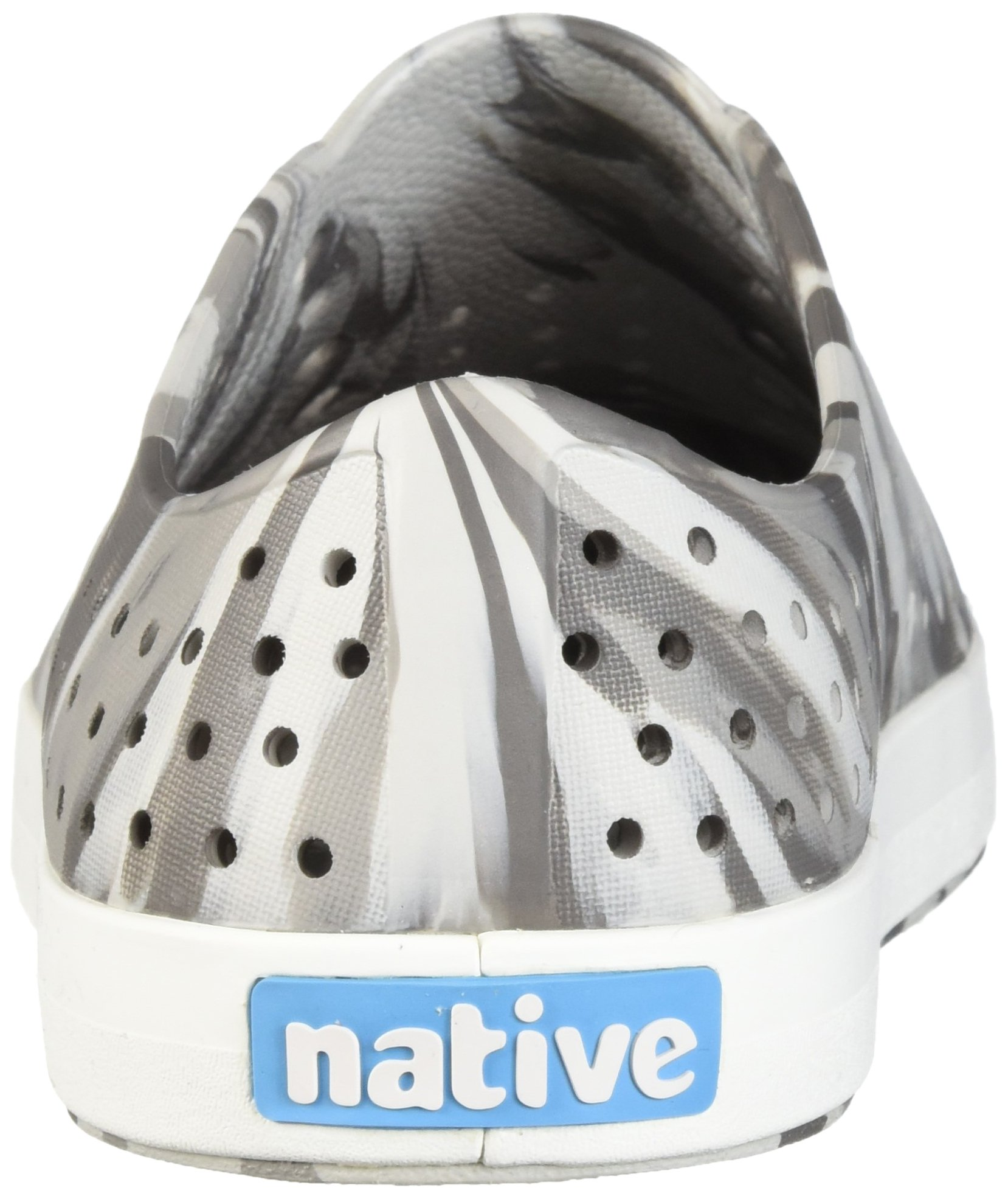 Native Kids Marbled Jefferson Water Proof Shoes, Dublin Grey/Shell White/Marbled, 5 Medium US Big Kid by Native Shoes (Image #2)