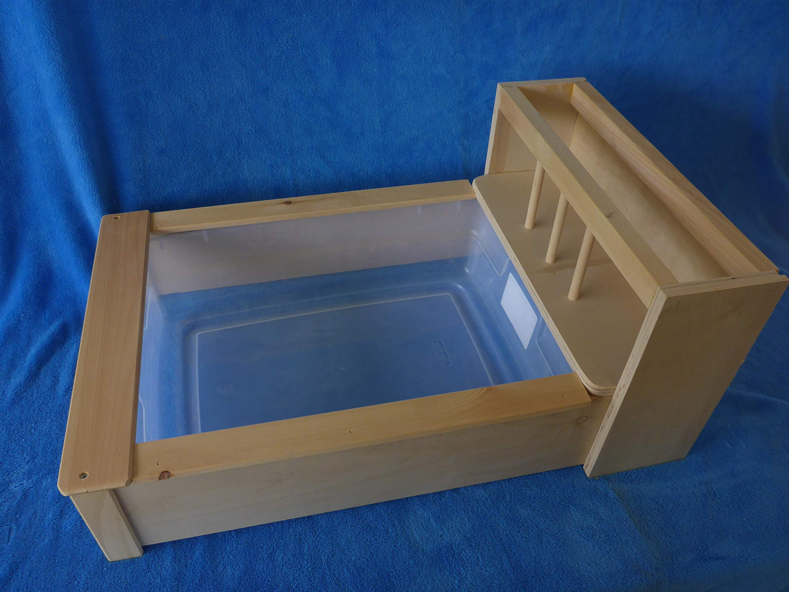Future Antiques Litter Pan with Hay Feeder by Future Antiques
