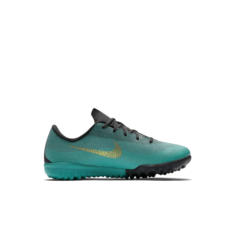 Bota CR7 Jr. VaporX 12 Academy (TF) Cristiano Ronaldo Nº29.5: Amazon.es: Zapatos y complementos