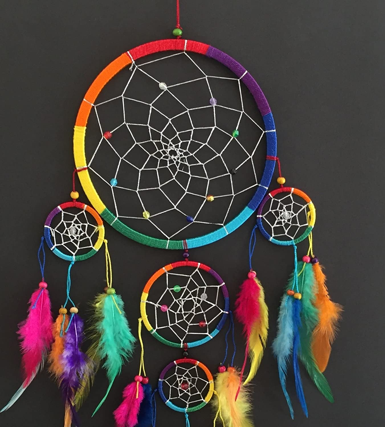 - Amazon.com: OMA Dream Catcher - Hand Made Traditional Multi Color