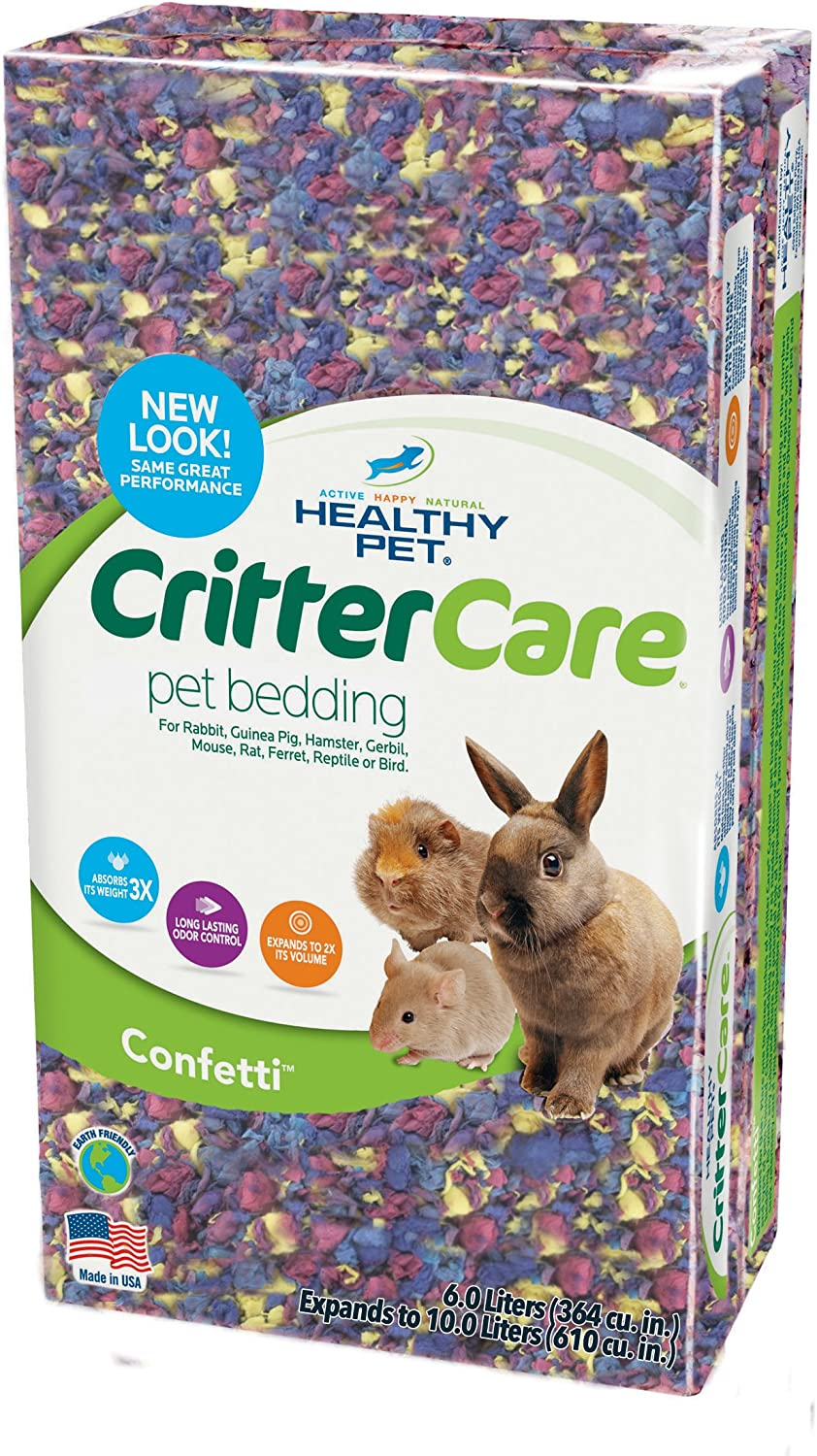 Healthy Pet Bedding In Colors, 10-Liter