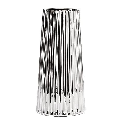 Torre /& Tagus Vector Ceramic Vase Tall Matte White