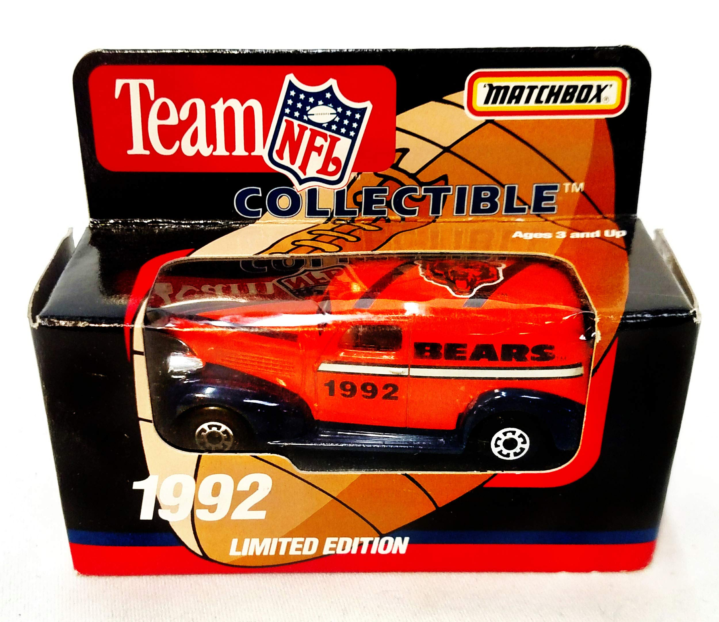 Chicago Bears 1992 Limited Edition Matchbox Die Cast Collectible