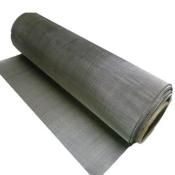 Malla de acero inoxidable, 50 x 50 cm, para filtro colador ...
