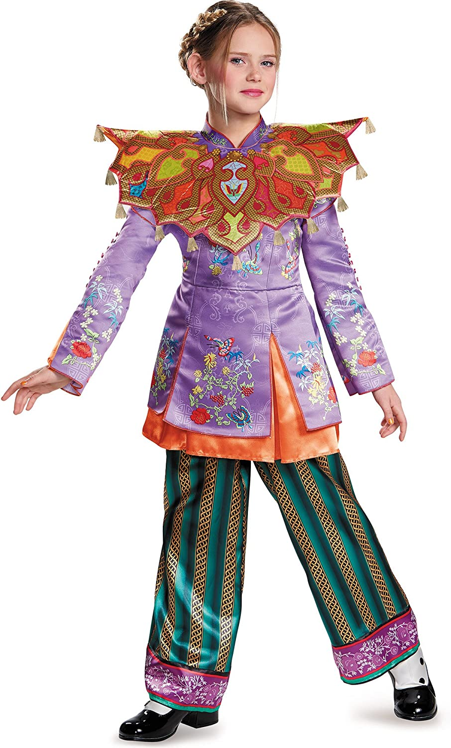 Disney Alice Through The Looking Glass Deluxe Asian Look Womens Costume LG 12-14