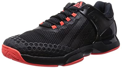 best loved 0af7f 1efba adidas Adizero Uber Sonic Chaussures de Tennis Homme - - NoirRouge, 44 2