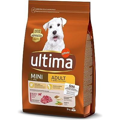 ultima Pienso para Perros Mini Adult con Buey 3000 g