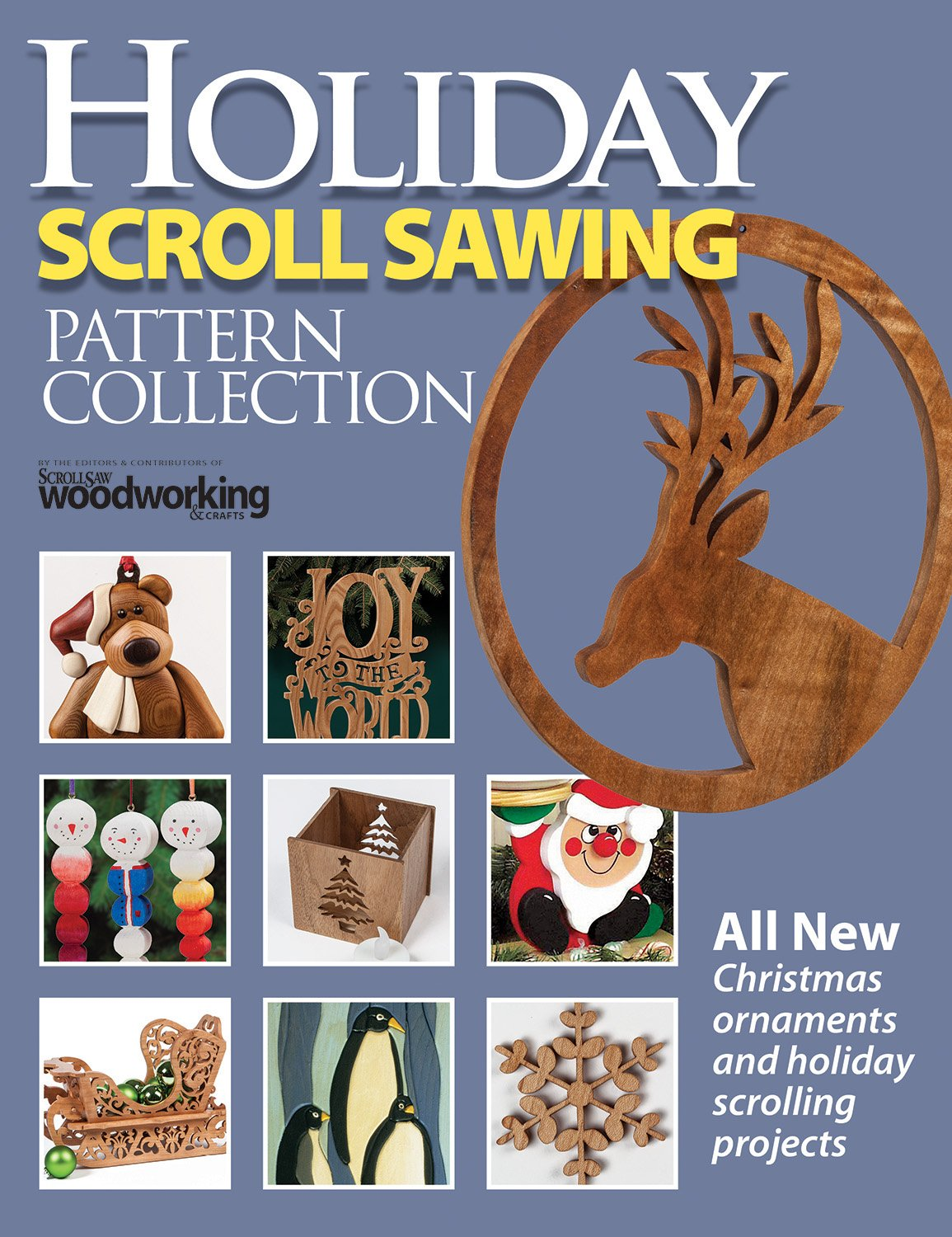 Holiday Scroll Sawing Pattern Collection Fox Chapel
