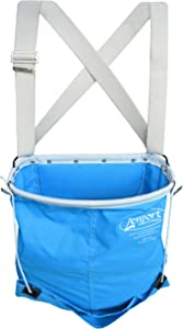 Zenport AG416 Agrikon 44-Pound Fruit Picking Bag, Soft Shell, Harvest Apple/Citrus