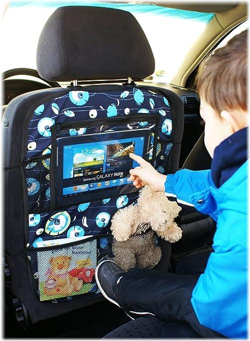 Auto asiento trasero Tablet iPad Organizador Multi Funda Protector de espalda de asiento nr 5 [