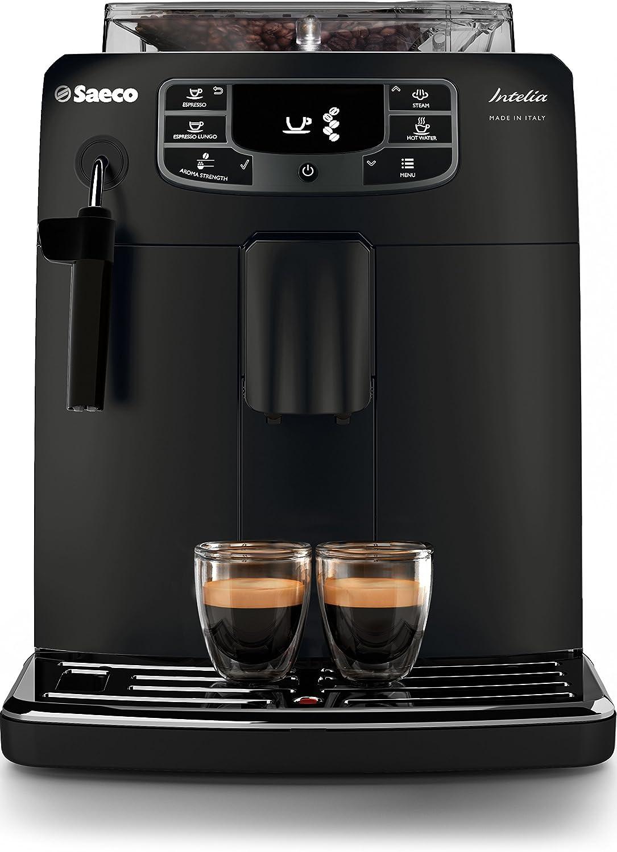 Saeco HD8900/01 - Cafetera (Independiente, Máquina espresso, 1,5 L, Molinillo integrado, 1850 W, Negro): Amazon.es: Hogar