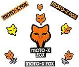 Fox Men's Sticker Track Pack, Orange One Size