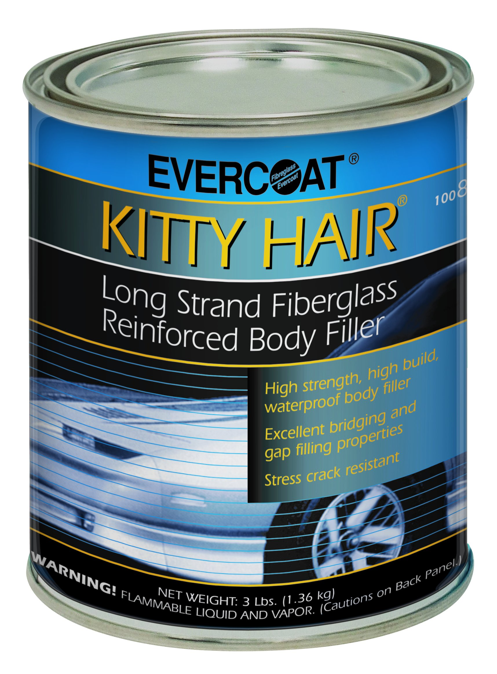 Evercoat 868 Kitty Hair Reinforced Filler - 1 Quart