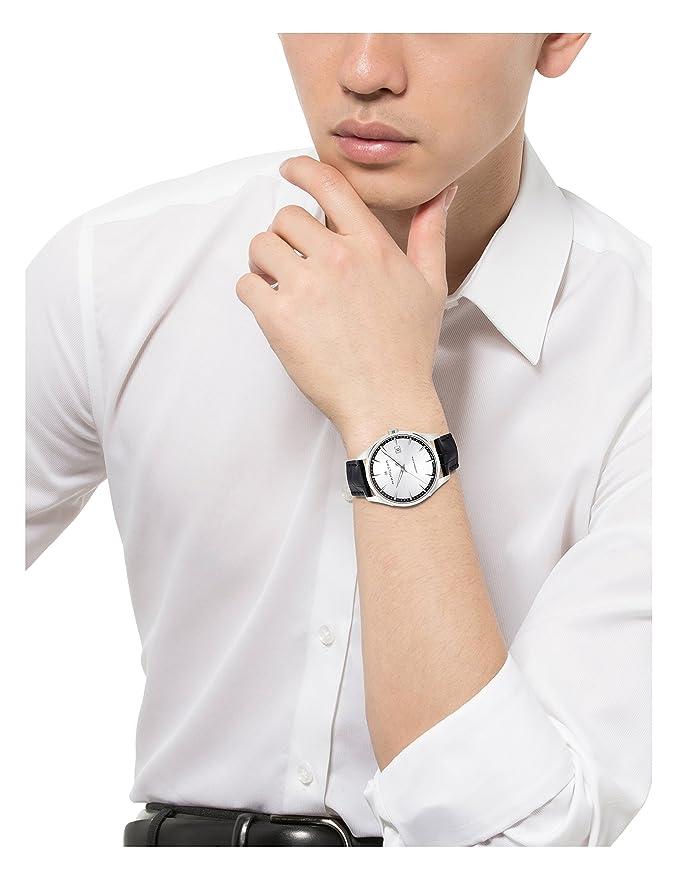 Mit Herren Uhr Armband Hamilton Quarz H32451751Amazon Leder Analog LMVGzpqSU