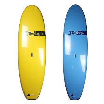 Logik Surf School amplia Softboard – principiante espuma Tabla de surf para adultos – varios colores