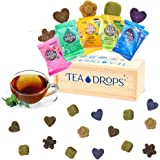 Tea Drops Party Pack of 25 Lightly Sweetened Loose Leaf Bagless Tea   On the Go Tea Assortment Including Citrus Ginger, Blueb