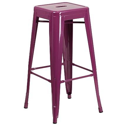 Fabulous Amazon Com Trent Austin Design Barchetta 30 Stylish Metal Squirreltailoven Fun Painted Chair Ideas Images Squirreltailovenorg