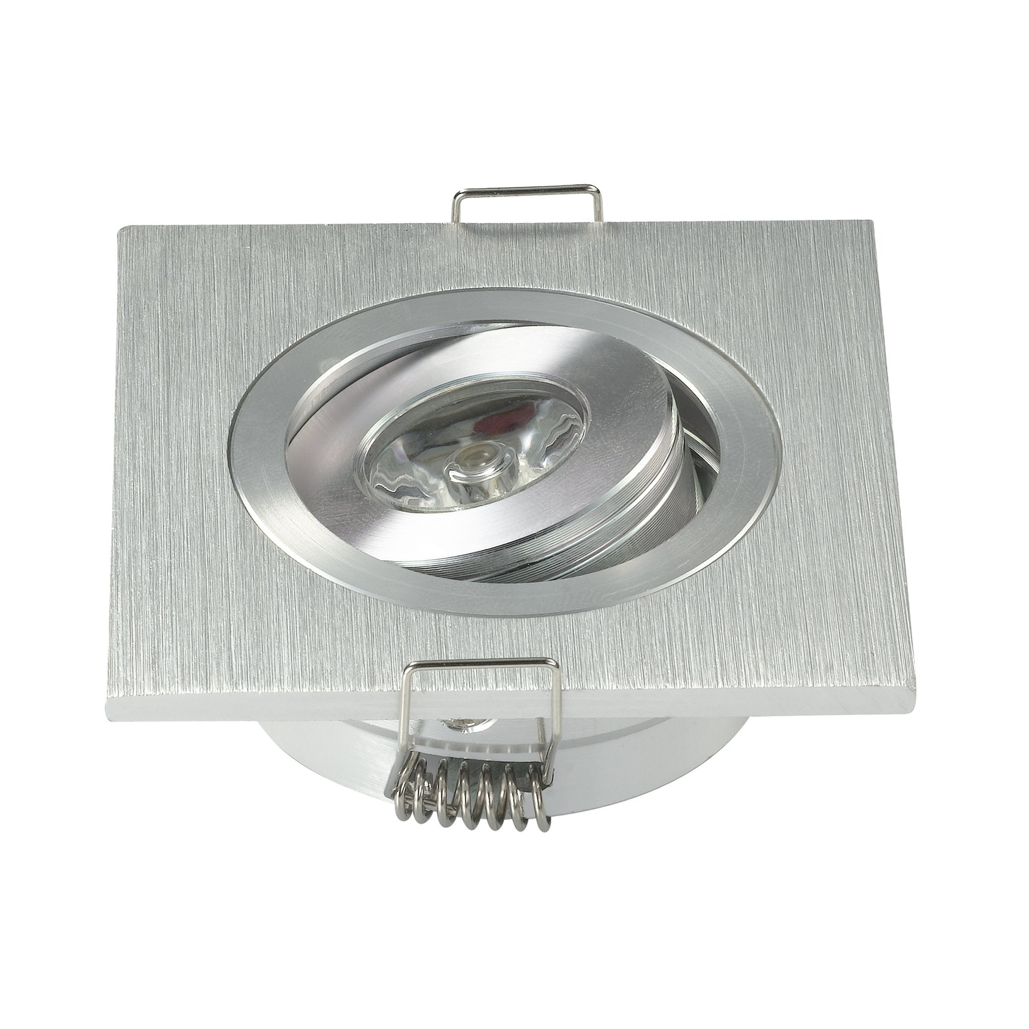 Pack of 10 Mini 3W High Power LED Recessed Ceiling Down Light Lamps LED Downlights for Living Room Cabinet Bedroom